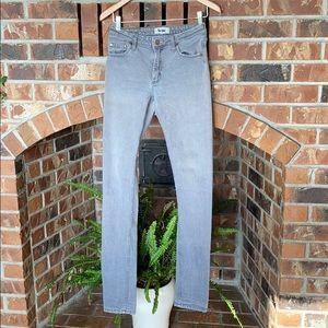 Acne Jeans gray flex/zick jeans size 28/34